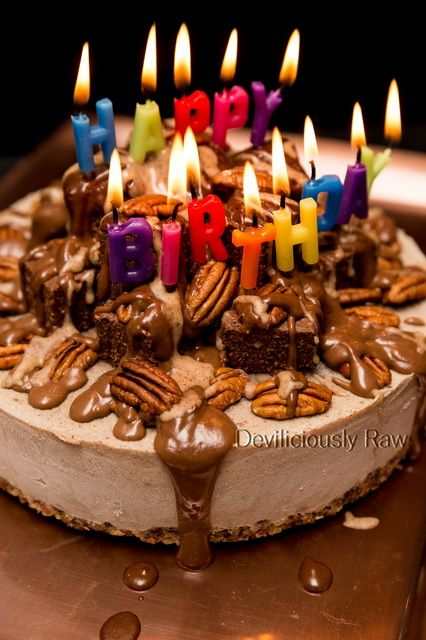 Awesome Nutty Chocolate Lava Birthday Cake Recipe With Images Funny Birthday Cards Online Alyptdamsfinfo