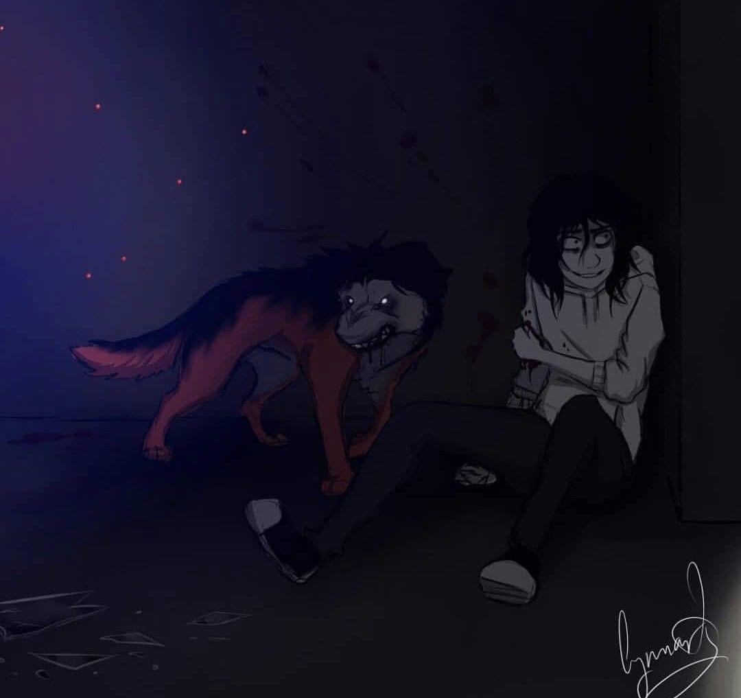 Jeff The killer, Smile Dog | tumblr | Creepypasta | Creepypasta