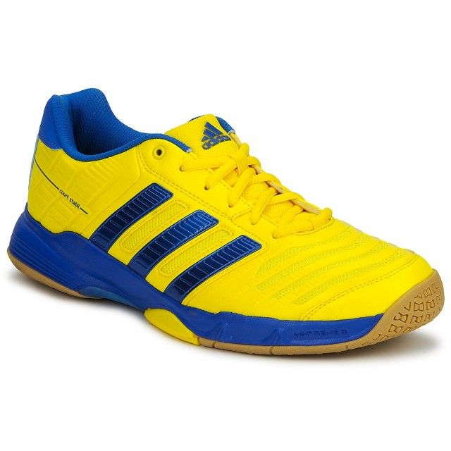 5399eb752 Adidas Court Stabil 10 Yellow