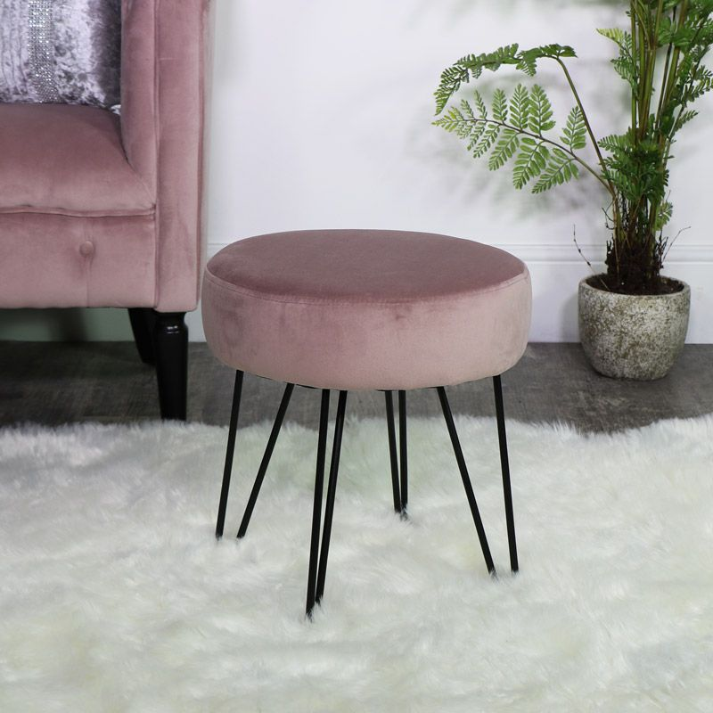 Dusky Pink Dining Chairs