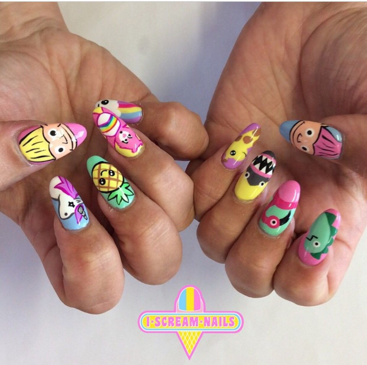 Pin By I Scream Nails On I Scream Nails Nail Art Pinterest
