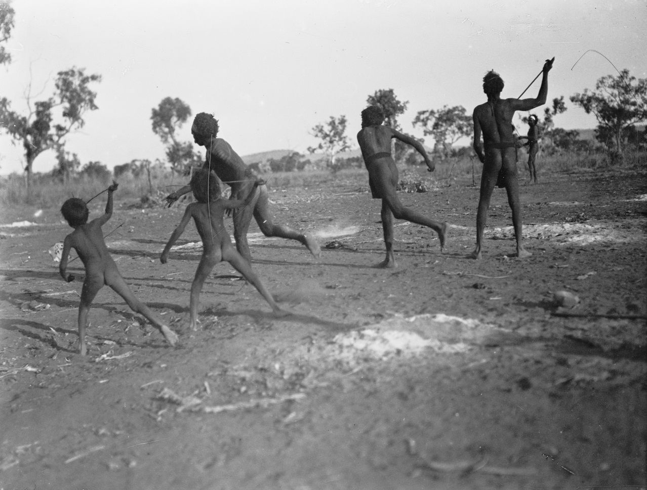 How were Indigenous Australians treated in the late 1800's?