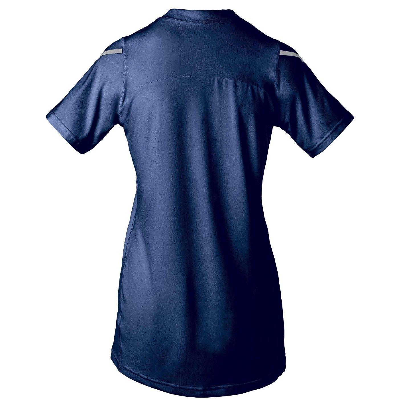 Mizuno Women S Techno Vii Short Sleeve Volleyball Jersey In 2020 Volleyball Jerseys Women Short Sleeve