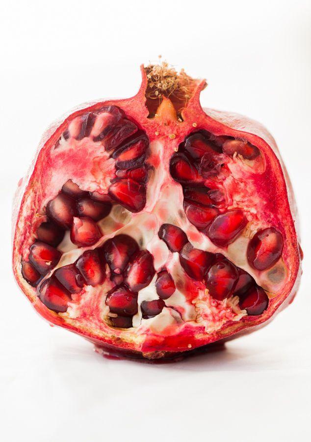 Inside of a Pomegranate