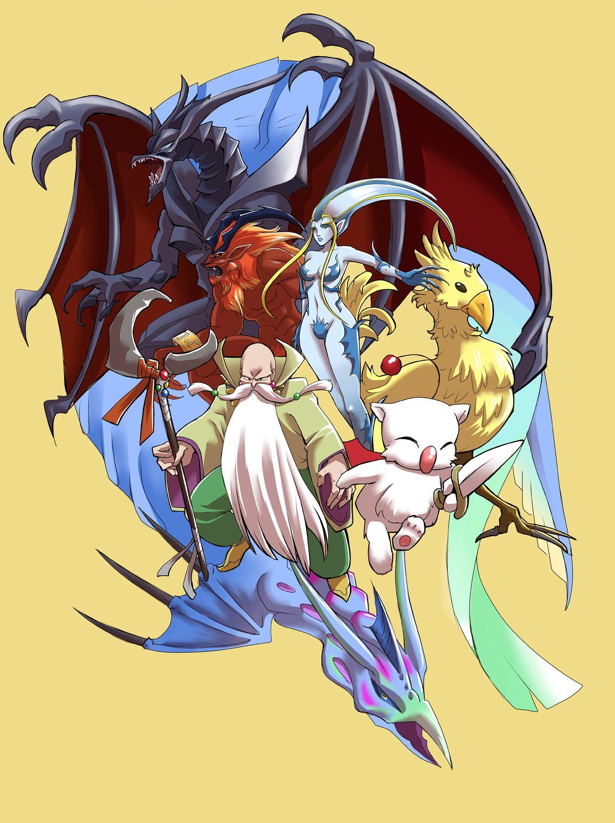 Final Fantasy summoned creatures Final fantasy vii