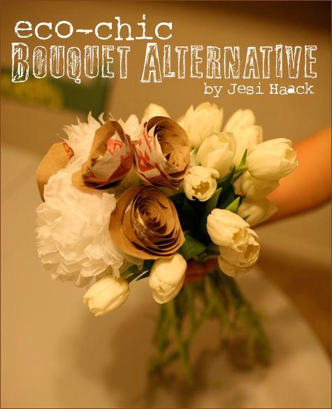 Diy Tutorial Eco Chic Bouquet Alternative Floral Design 101