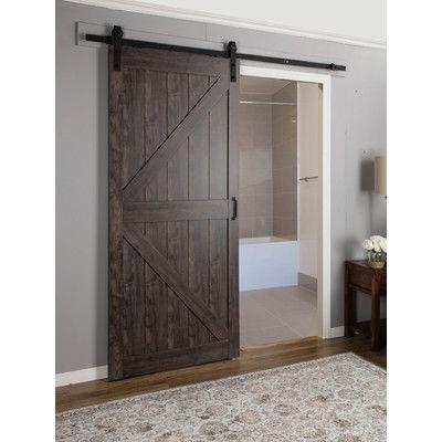 Beau Continental MDF Engineered Wood 1 Panel Interior Barn Door | Interior Barn  Doors, Engineered Wood And Barn Doors