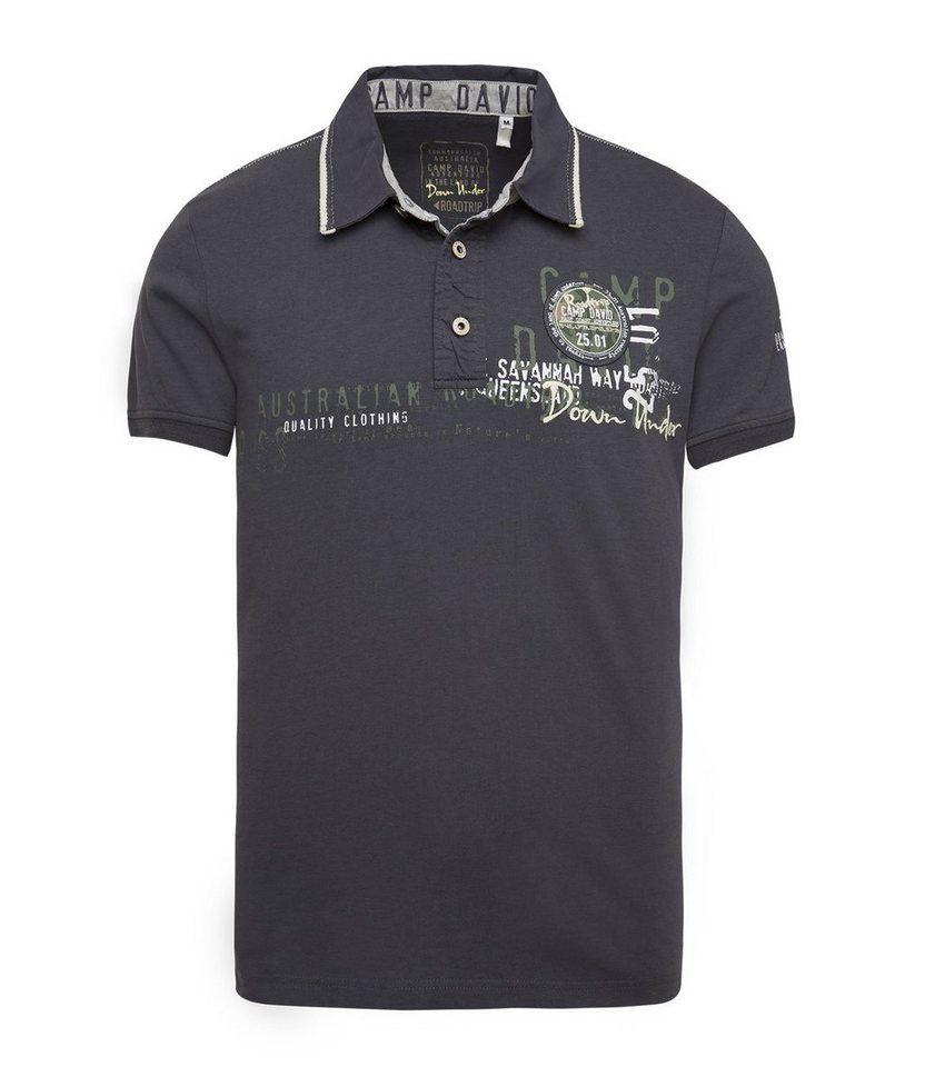 1e0a5edfe35 CAMP DAVID Poloshirt Camp David, Poloshirt, Nautique, Polo Ralph Lauren,  Shirts,
