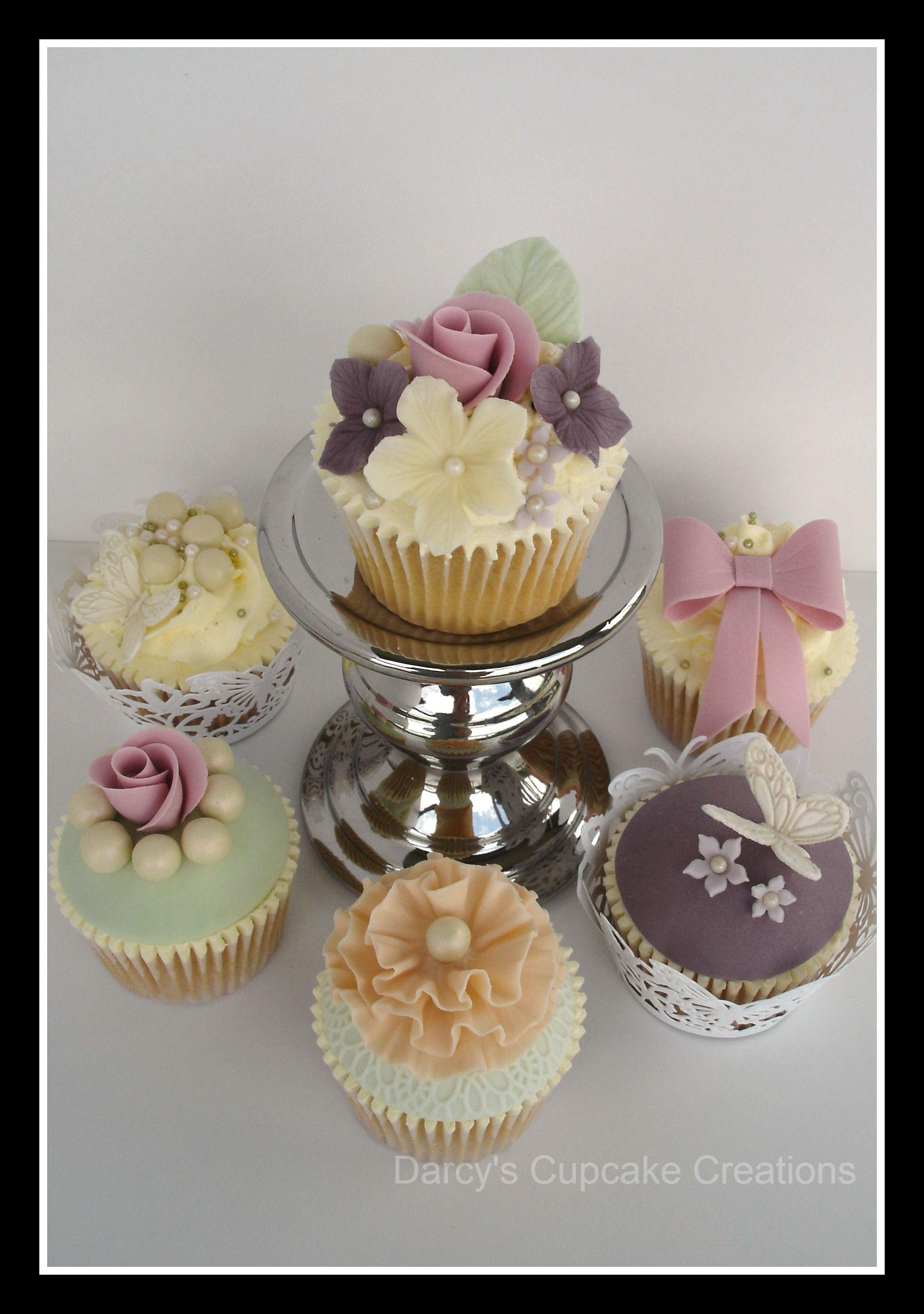 Vintage Pretty cupcakes