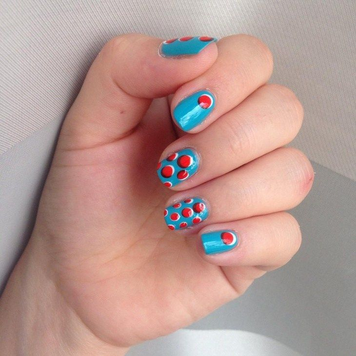 Awesome 13 Bubble Nail Art Designs Nails Pinterest
