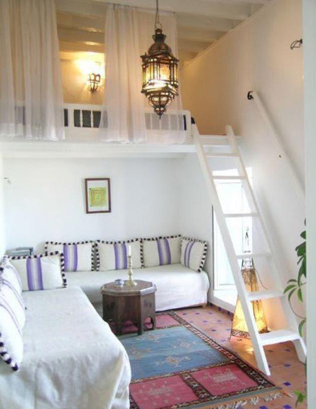 Preciosos dormitorios en altillos altillo dormitorio y alto - Altillos en habitaciones ...