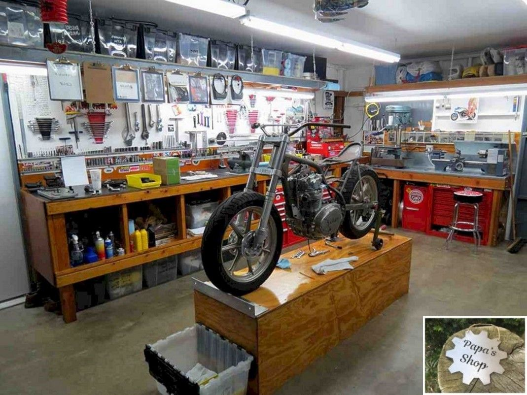 How To Create Your Own Garage Workshop Garage Design Garage Remodel Vintage Garage Ideas