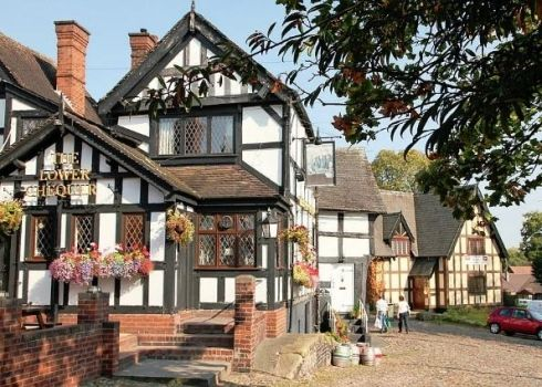 My local! The Lower Chequer in Sandbach