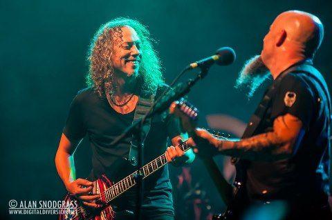 Kirk Hammett & Scott Ian