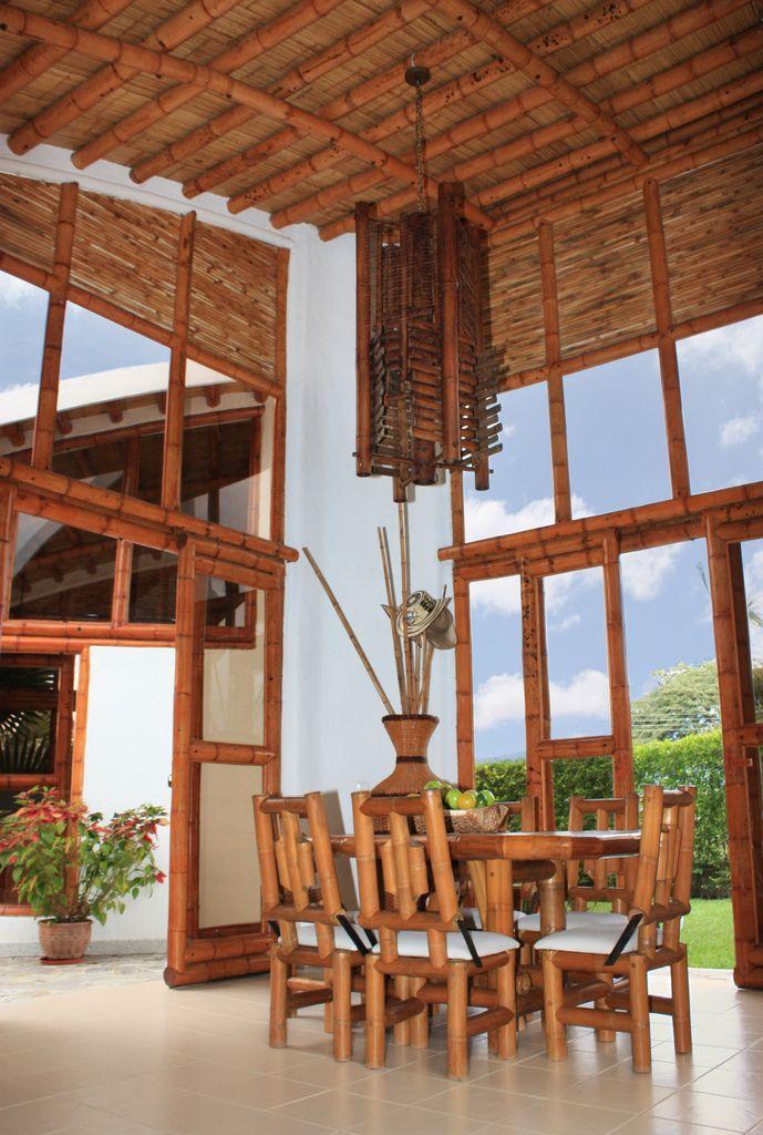 Guadua, Bambú decoración interior Lenhadores Pinterest Bambú - decoracion con bambu