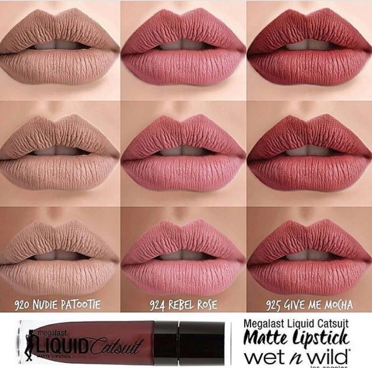 Megalast Liquid Catsuit Matte Lipstick Wet N Wild Wet N Wild