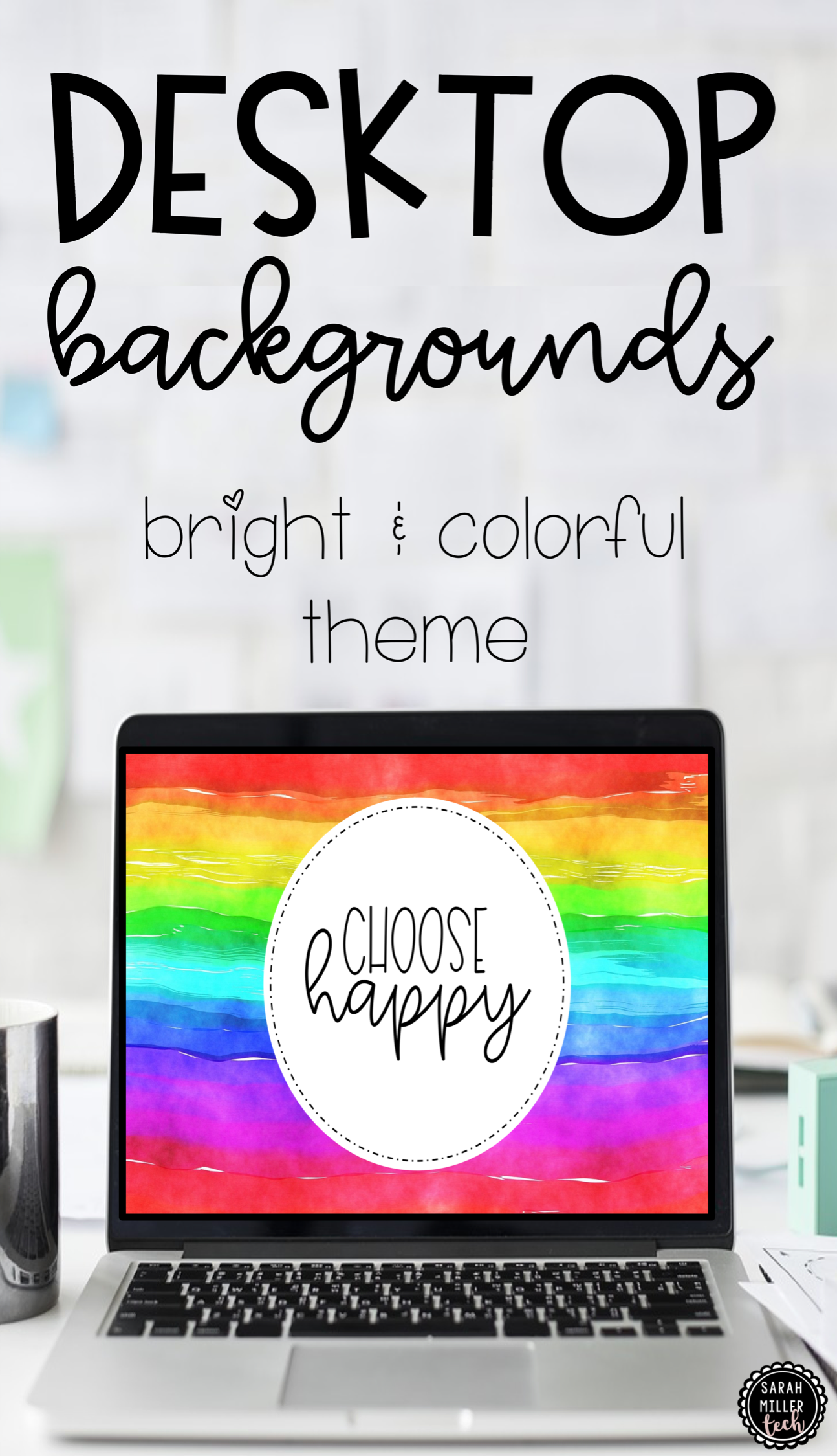 Bring Some Brightness To Your Busy Day With These Desktop Backgrounds These Are Great For Teacher Co In 2020 Teacher Survival Teaching Computers Elementary Activities