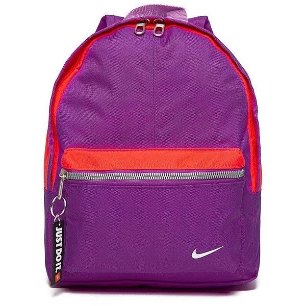 Nike Just Do It Mini Backpack ( 16) ❤ liked on Polyvore featuring bags 578e5ab309341