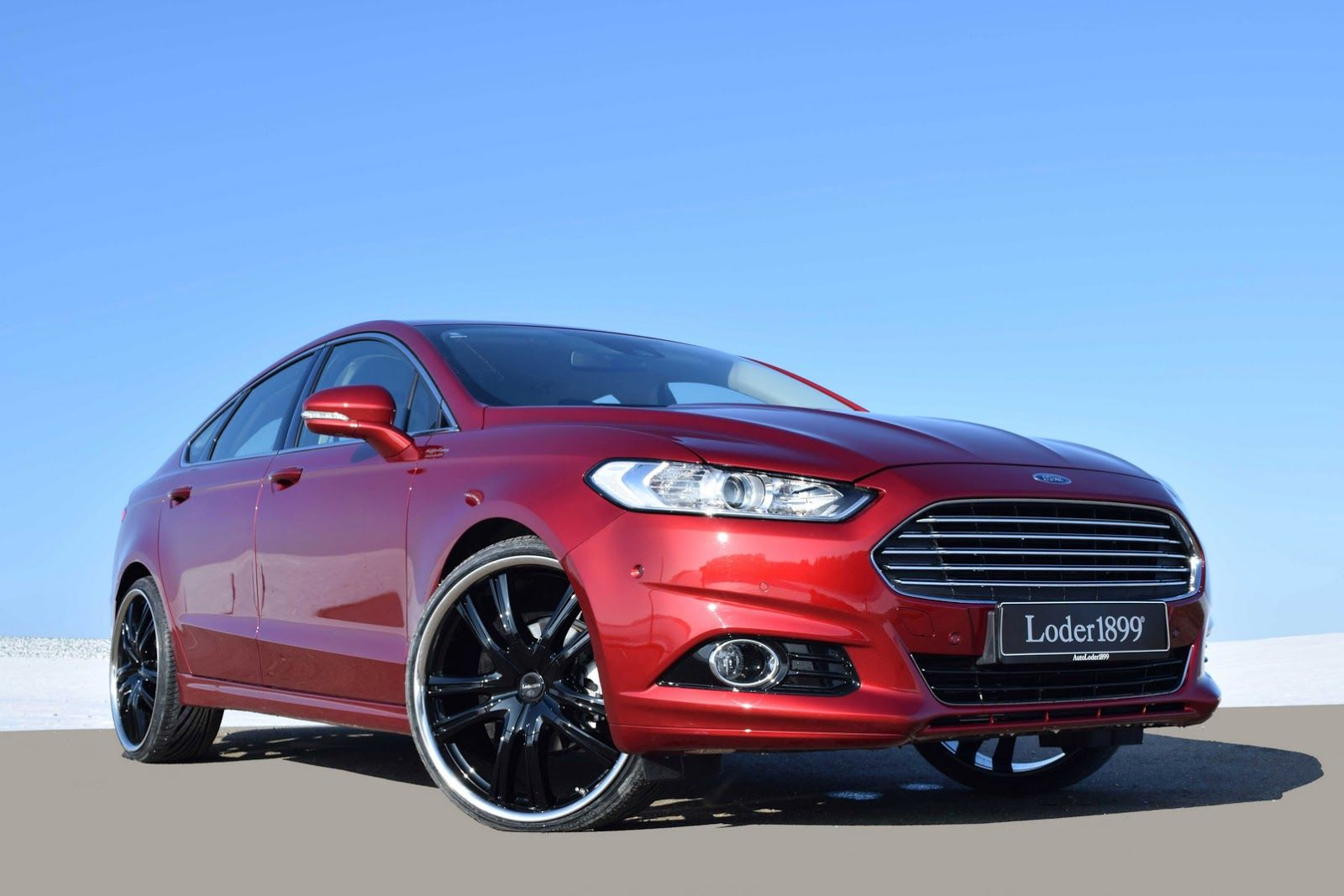 Too Much Loder1899 Gives New Ford Mondeo 22 Inch Wheels Carscoops Ford Mondeo Ford Old Ford Trucks