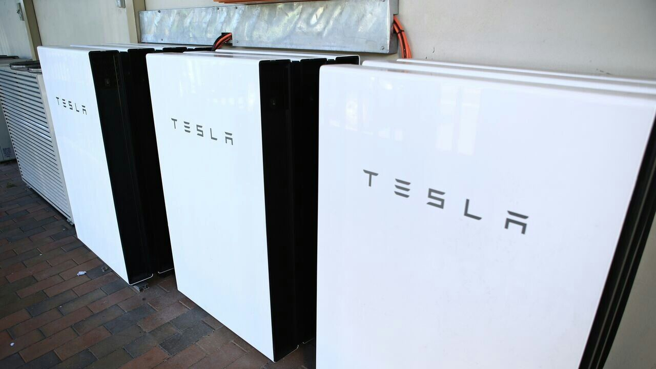 Nine Tesla Powerwall 2 This is how you do Off Grid battery