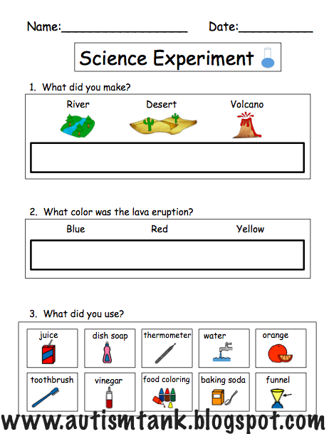 how to write up a science experiment simple instructions pdf