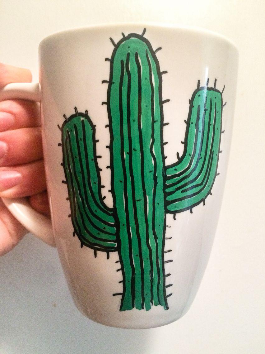 Cactus En Tazas