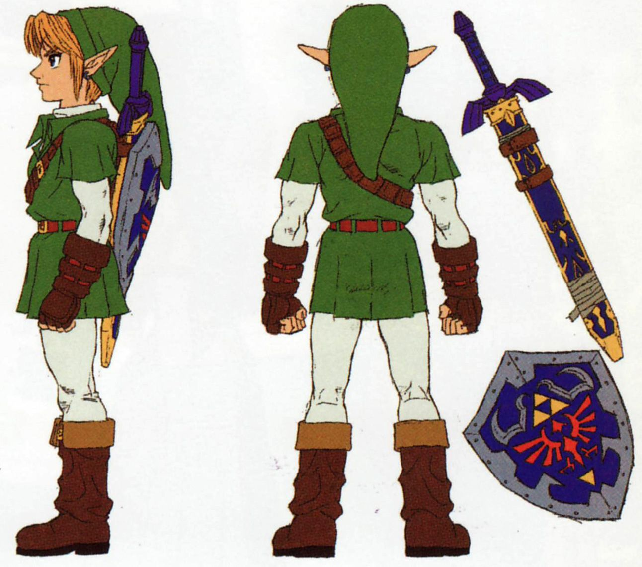 Ocarina of Time Ganandorf and Link (and is... References