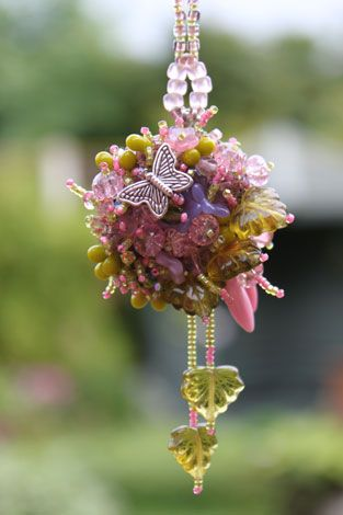 A photo of an item called Summer Bouquet Pendant