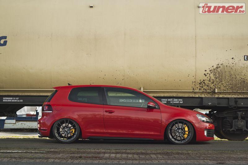 Slammed Golf Mk6 Gti Porsche Influences Mk6 Gti Volkswagen Golf Gti