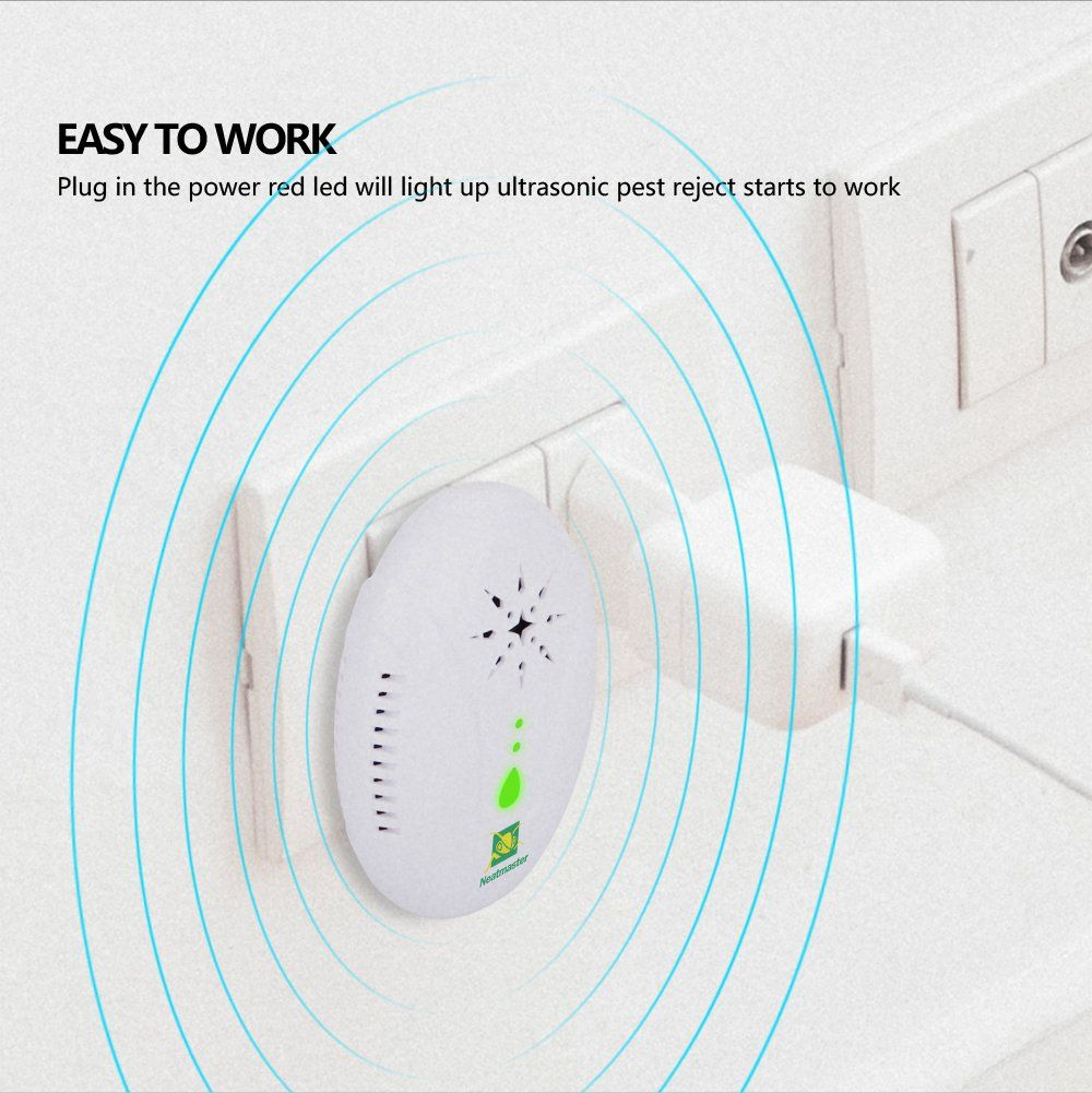 Neatmaster Ultrasonic Pest Repellent Electronic Pest