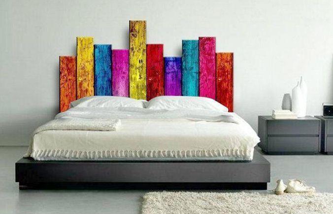 Originales cabeceras de cama para tu recámara. La cabecera de cama ...