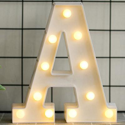 Luminous Led Letter Or Number Night
