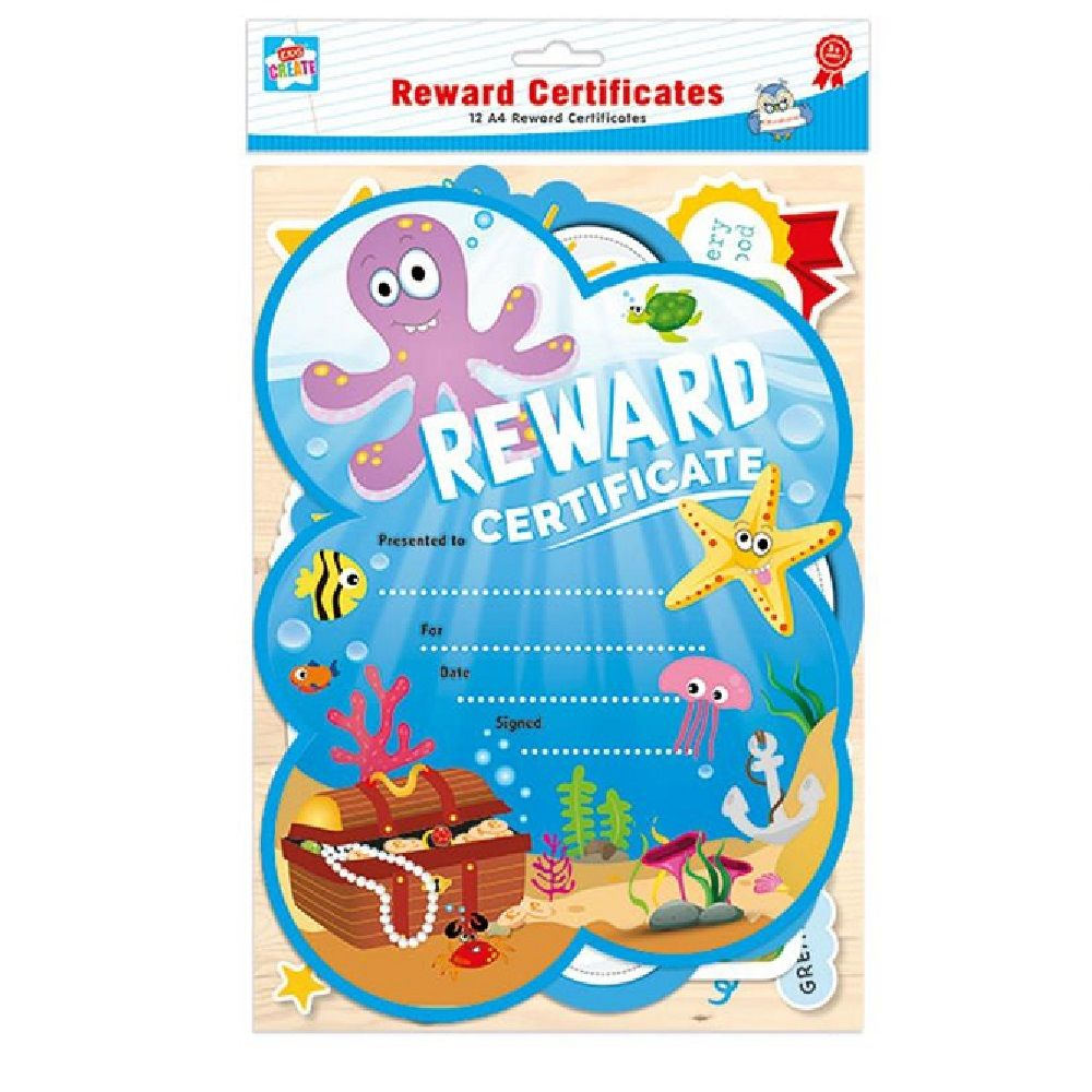 12 Pack Reward Certificates Awards Inner Bag 12 Pinterest