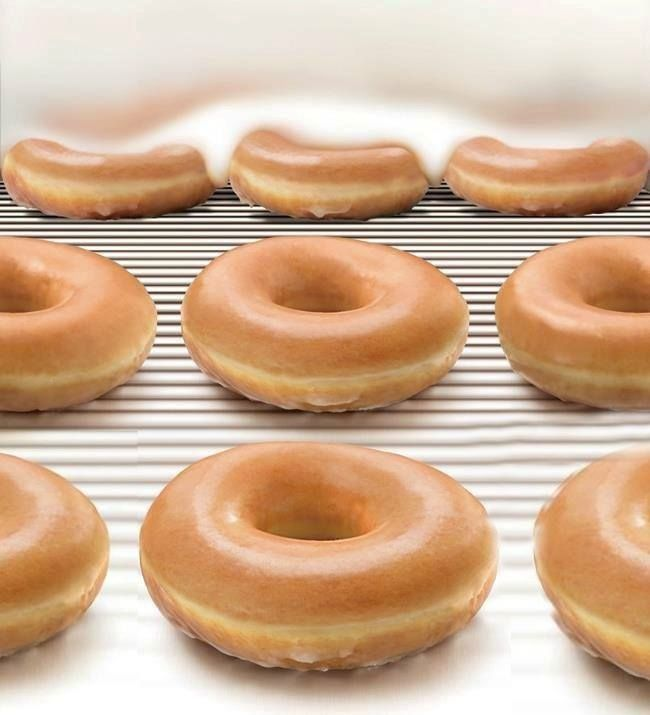 Money talks glazed doughnuts