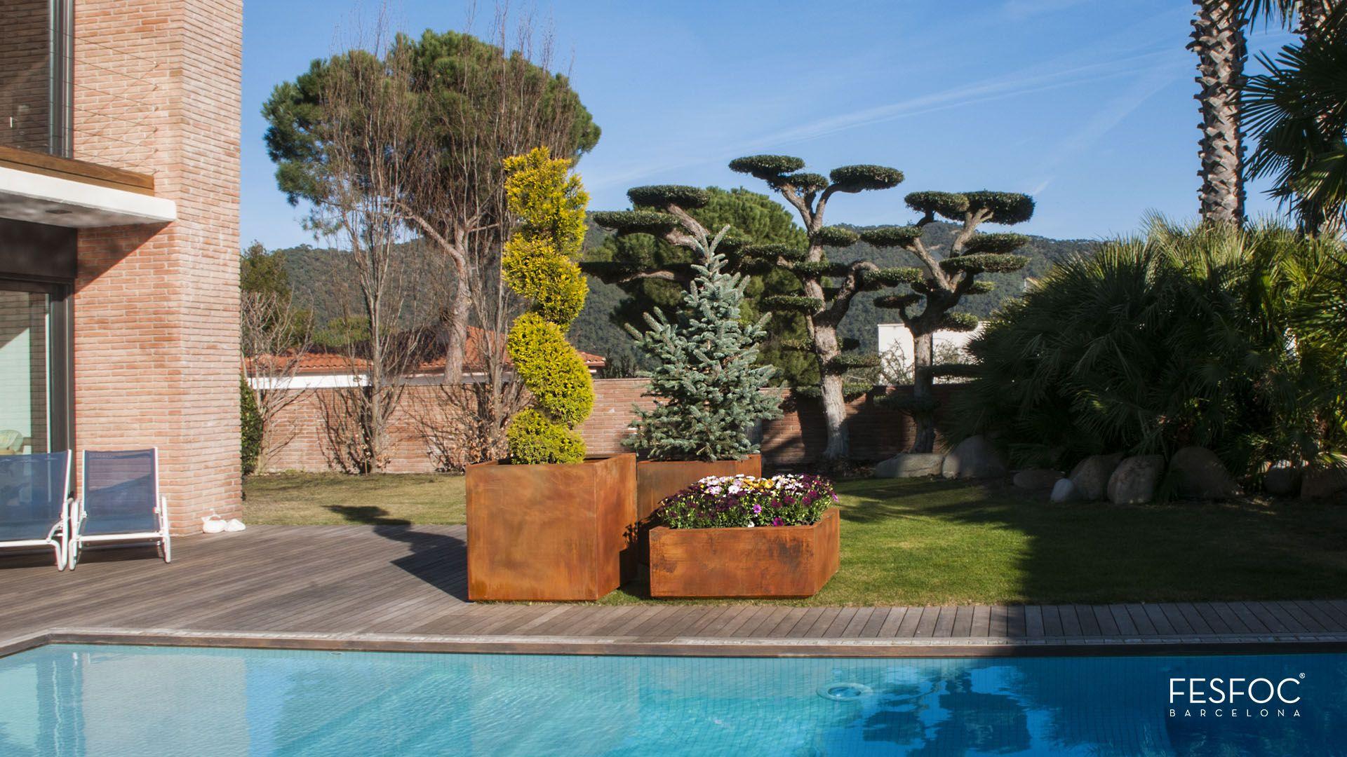 Impresionantes jardineras de dise o concebidas para - Jardineras de diseno ...
