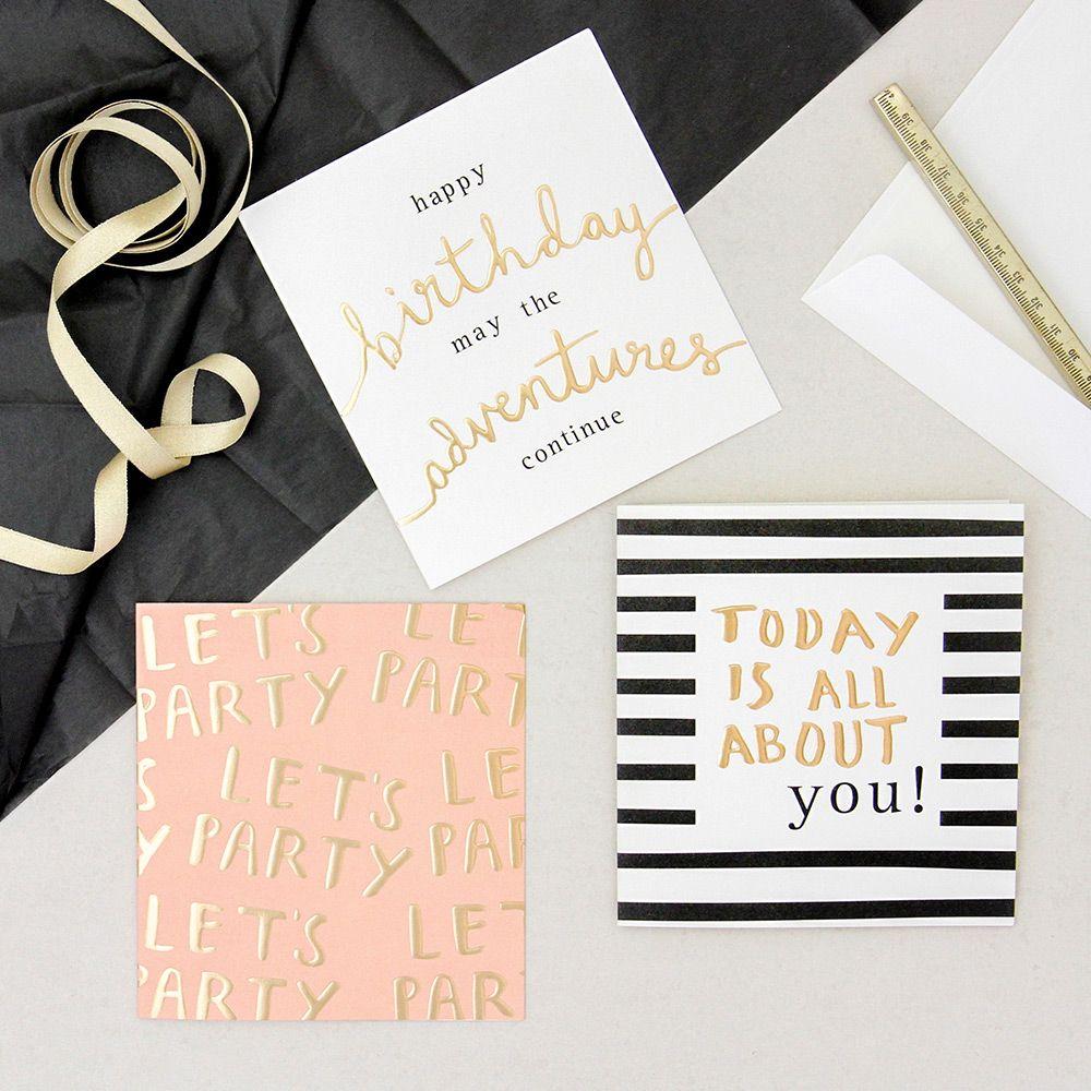 Hey You Card Pack Birthday Card Design Birthday Thank You Cards Birthday Card Online