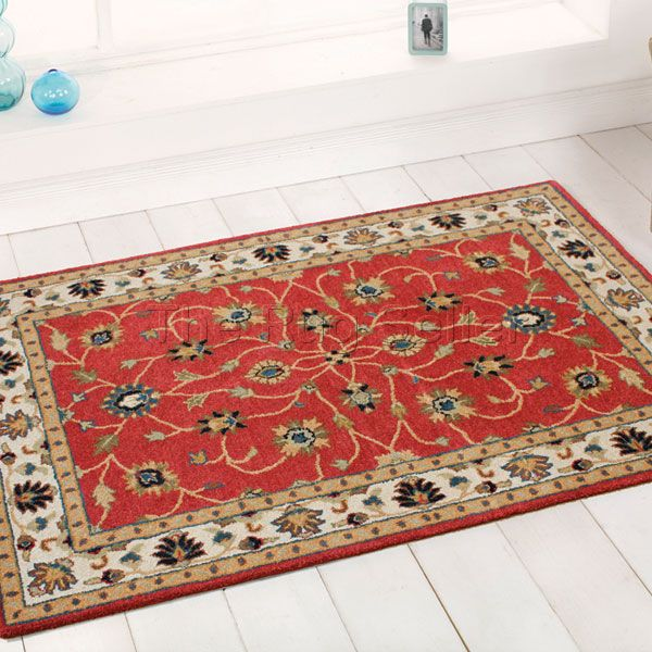 Savoy Traditional Rugs In Red Buy Online From The Rug