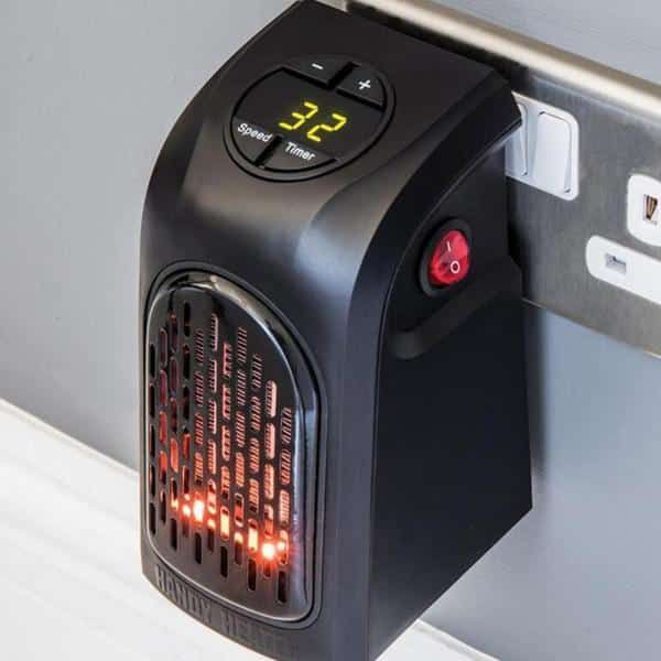 Portable Plug In Personal Space Heater Household Portable Heater