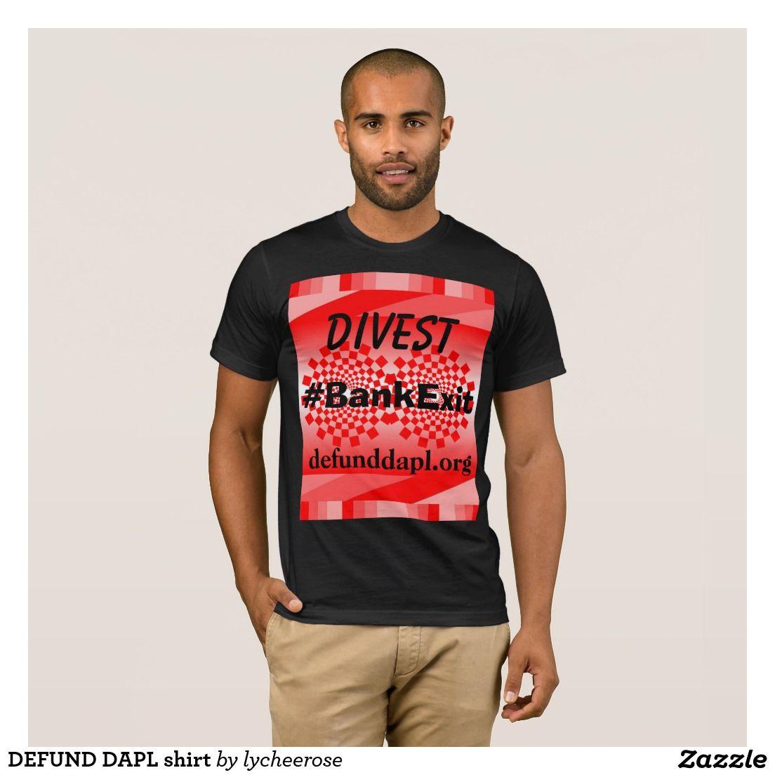 DEFUND DAPL shirt