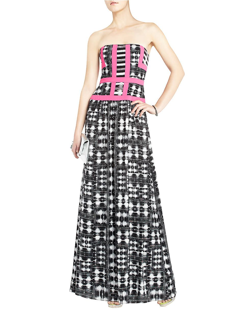 Love Bcbg Gracelyn Strapless Evening Gown Lord And Taylor