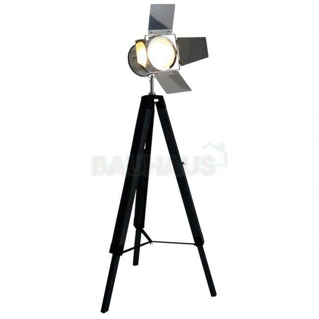 Royalty vloerlamp - Industriële studiolamp | Woonkamer Ideeën ...