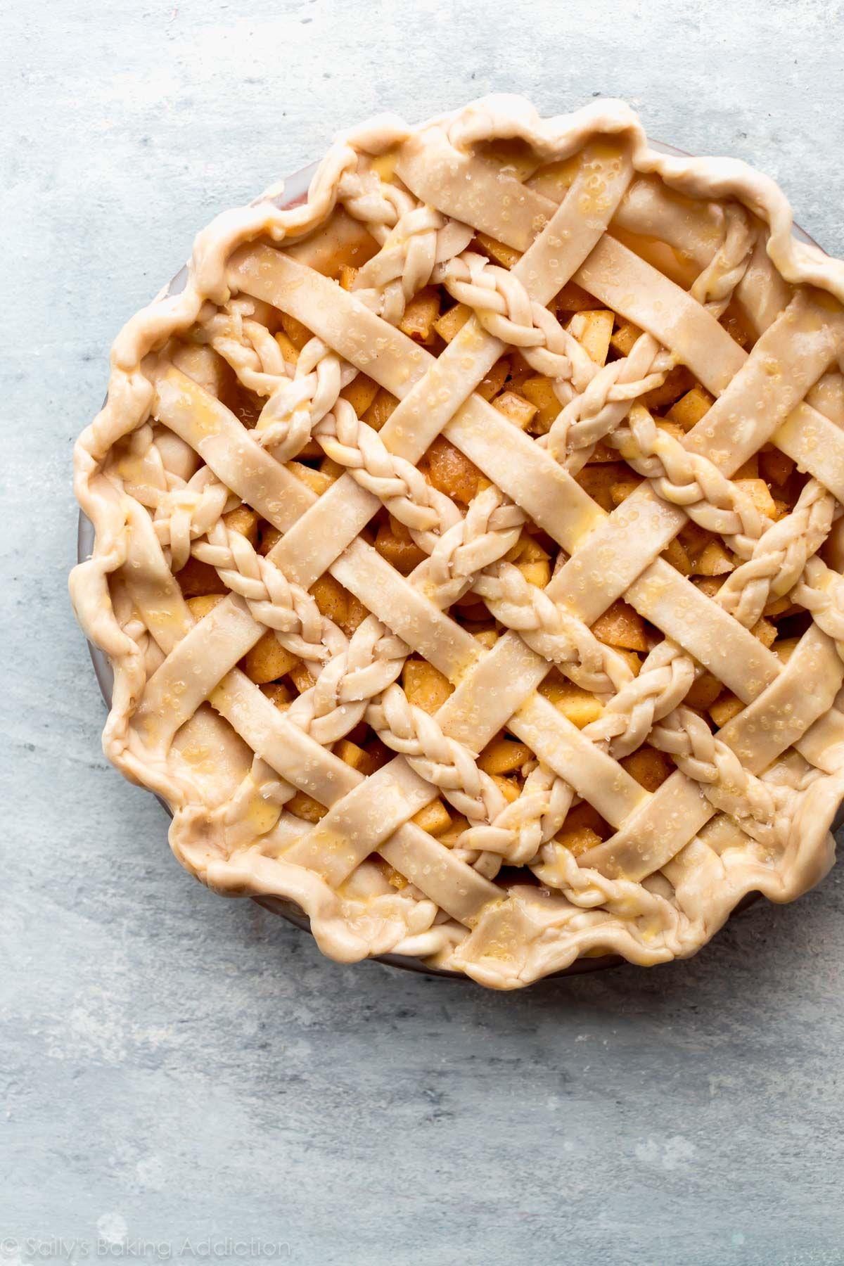Ginger Peach Pie | Sally's Baking Addiction
