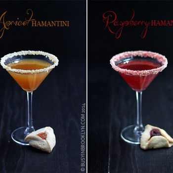 "The hamantini. Drink till you can't tell the difference between ""Curse Haman"" and ""Bless Mordecai."""