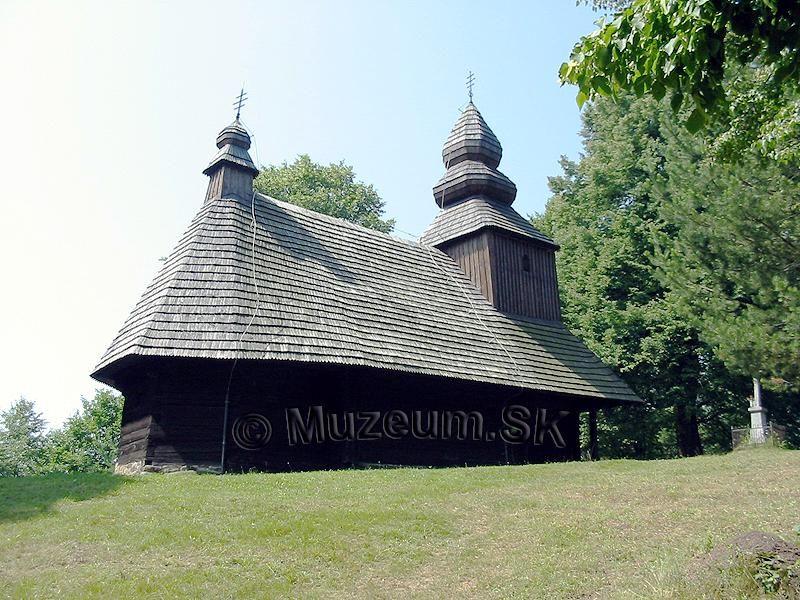 Ruska Bystra Muzeum.SK - Drevené kostolíky na Slovensku