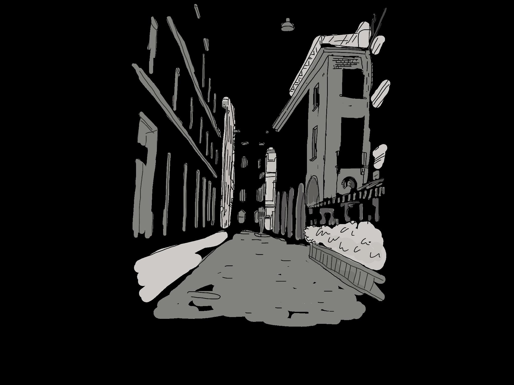 Italy Urban Sketch Drawing Illustration Art Drawings Art