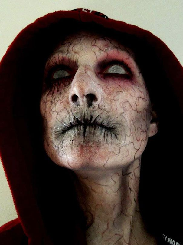 Scary Halloween Makeup To Look Horrifyingly Real | Scary makeup ...
