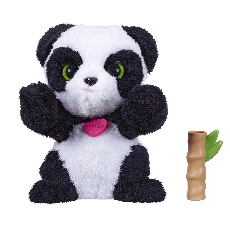 Amazon Com Furreal Friends Lil Big Paws Peek A Boo Panda Toys