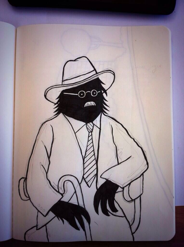 The Lonely Beast goes Joycean for Bloomsday. http://www.pilcrow.ie/abc