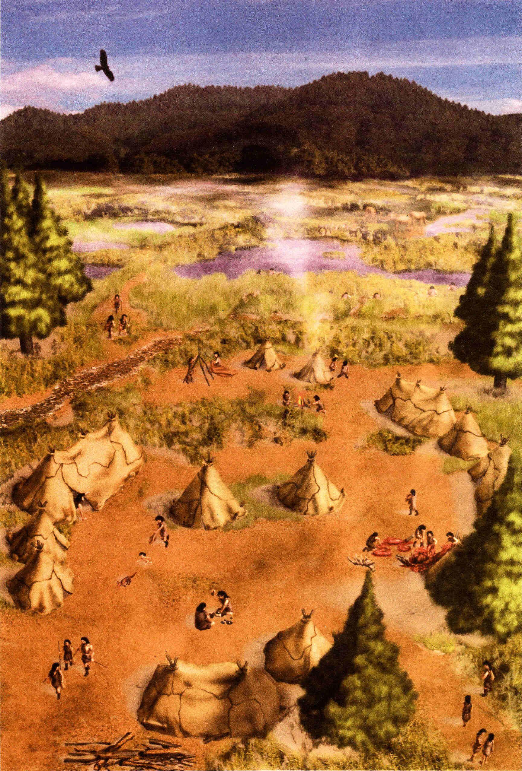 The Kambayashi Campsite During The Paleolithic Era