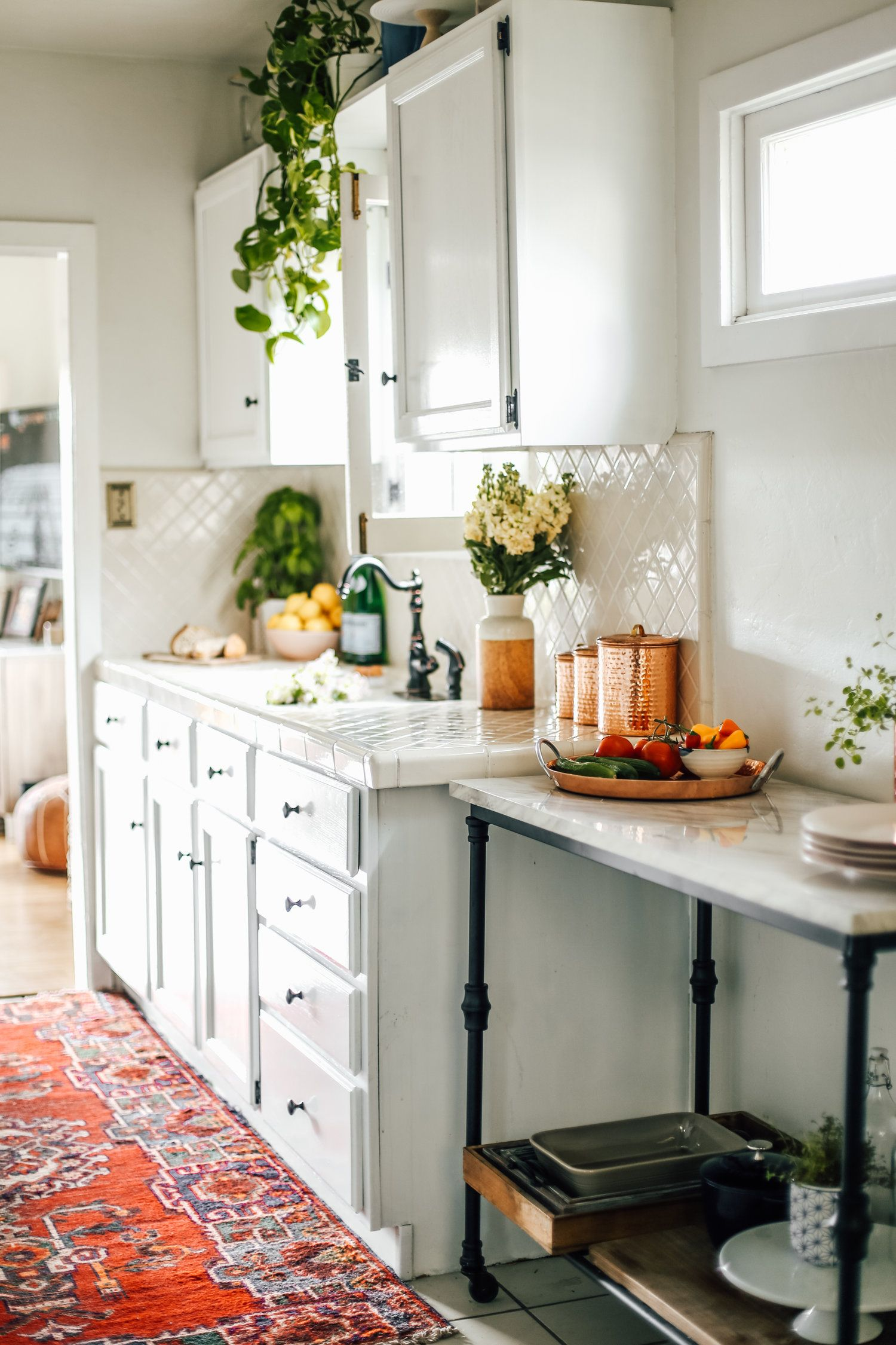 My Rental Kitchen Makeover Before Amp After Tips And
